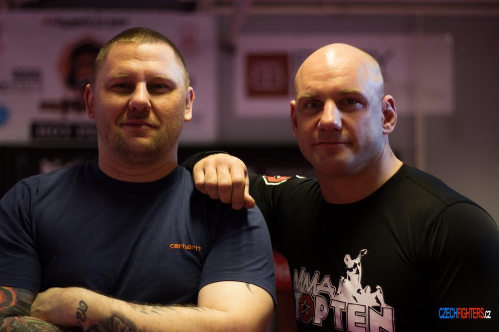 Martin Šolc se už druhým rokem připravuje v PriMMAt gymu pod vedením Marka Lončáka