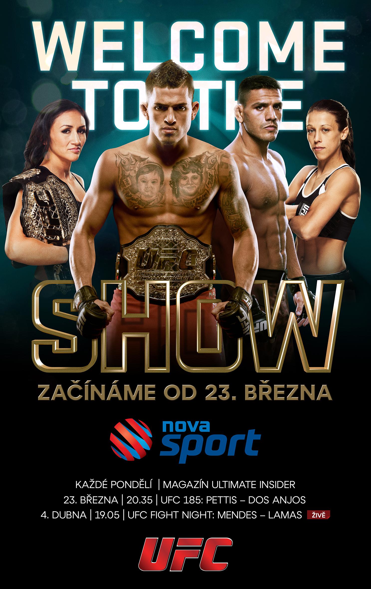 UFC na NOVA Sport od 23. brezna